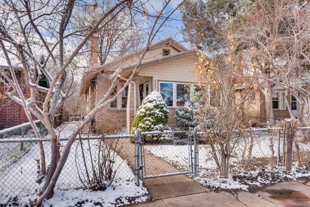 421 S Washington Street, Denver, CO 80209 (#7512554) :: Bring Home Denver with Keller Williams Downtown Realty LLC