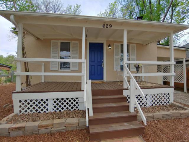 629 Maple Street, Colorado Springs, CO 80903 (MLS #7515243) :: Kittle Real Estate