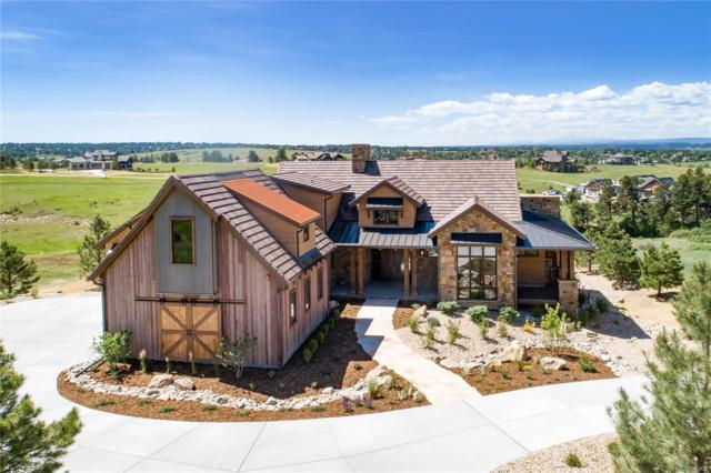 8480 Witez Court, Parker, CO 80134 (#7518463) :: The Galo Garrido Group