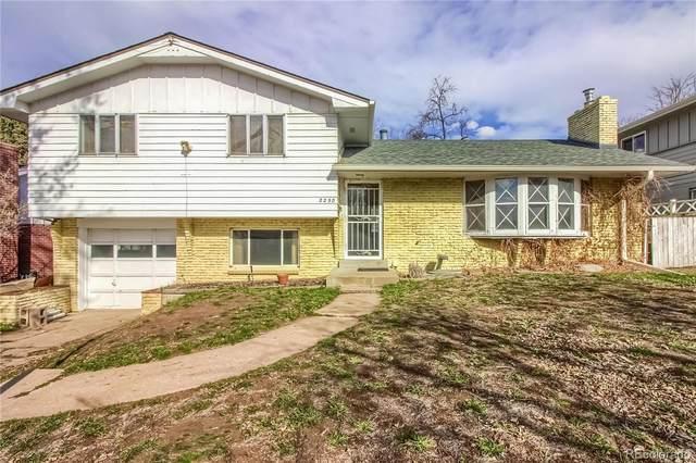2250 S Vrain Street, Denver, CO 80219 (#7520400) :: Briggs American Properties