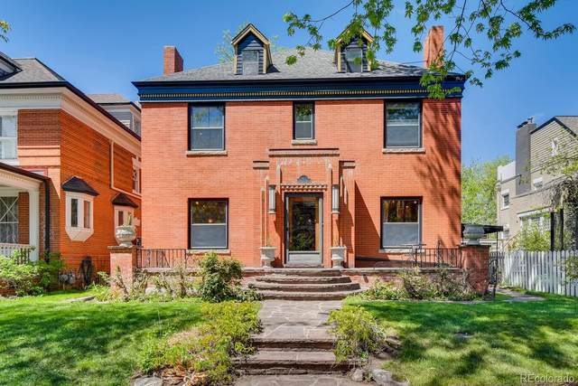 967 N Lafayette Street, Denver, CO 80218 (#7525630) :: The Peak Properties Group