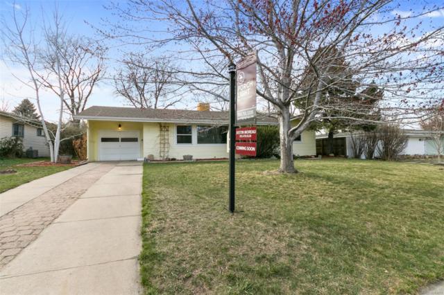 1435 S Grape Street, Denver, CO 80222 (#7526302) :: The Peak Properties Group