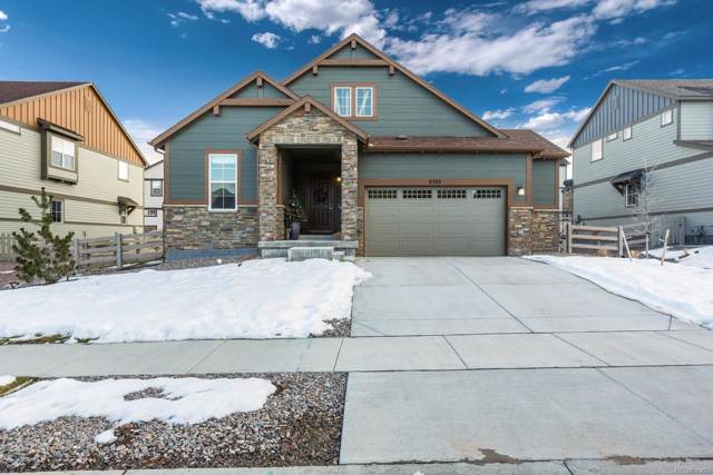 8368 Arapahoe Peak Street, Littleton, CO 80125 (#7528459) :: The DeGrood Team