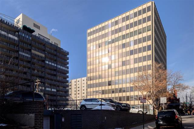 789 Clarkson Street #605, Denver, CO 80218 (#7530347) :: 5281 Exclusive Homes Realty