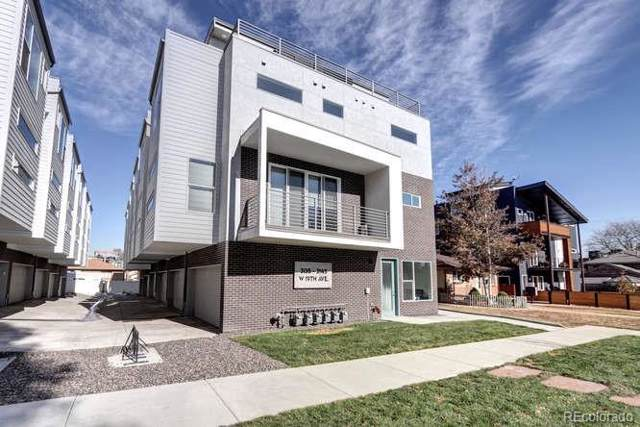 3145 W 19th Avenue, Denver, CO 80204 (#7539313) :: RazrGroup