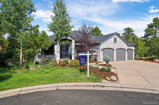 7167 Timbercrest Lane, Castle Pines, CO 80108 (#7539373) :: The Brokerage Group