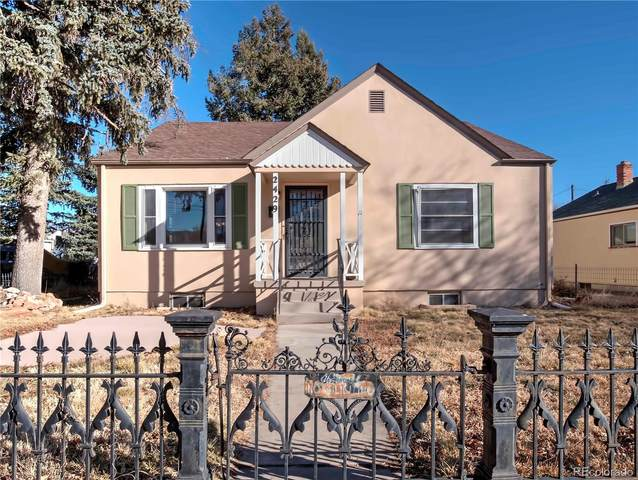 2429 N Tejon Street, Colorado Springs, CO 80907 (#7544668) :: The HomeSmiths Team - Keller Williams