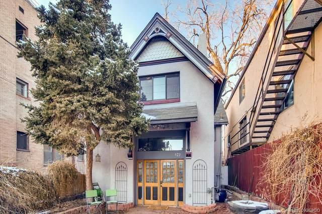 521 E 11th Avenue, Denver, CO 80203 (#7549326) :: Colorado Home Finder Realty