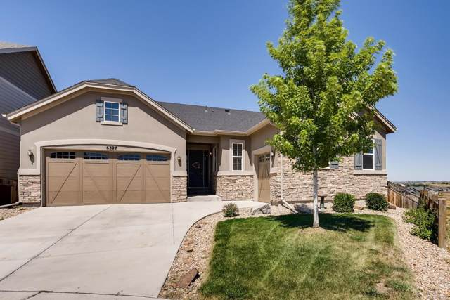 6327 Blue Water Circle, Castle Rock, CO 80108 (MLS #7551565) :: 8z Real Estate