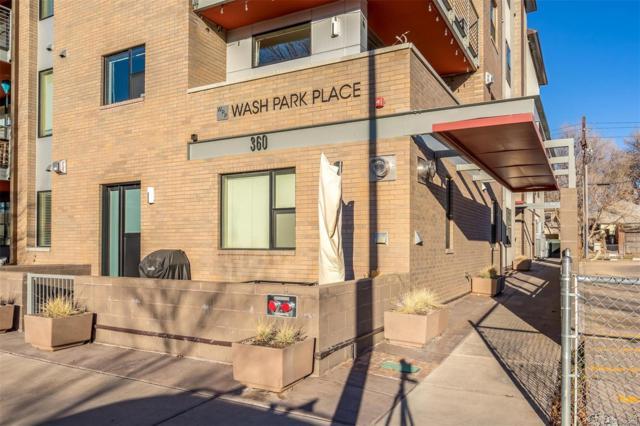 360 S Lafayette Street #102, Denver, CO 80209 (#7563171) :: The Peak Properties Group