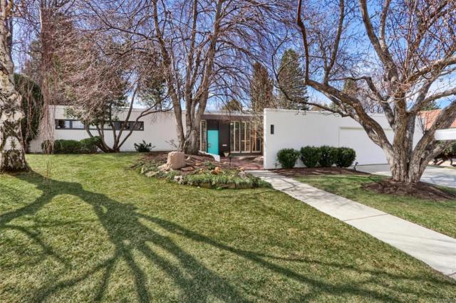 3660 E Dartmouth Avenue, Denver, CO 80210 (#7567945) :: House Hunters Colorado