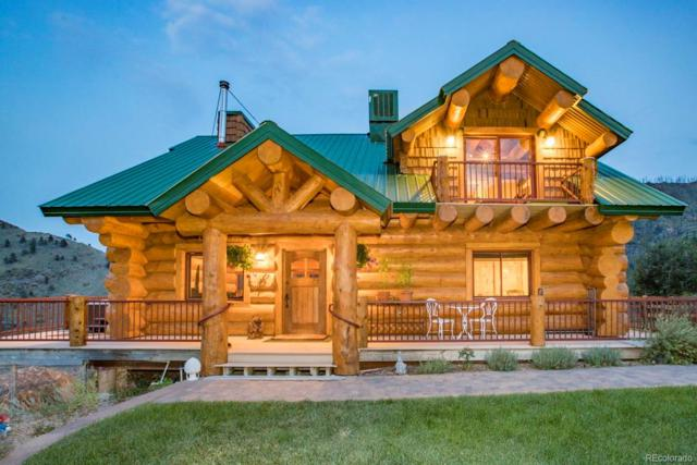222 Unger Mountain Road, Bellvue, CO 80512 (MLS #7569786) :: 8z Real Estate