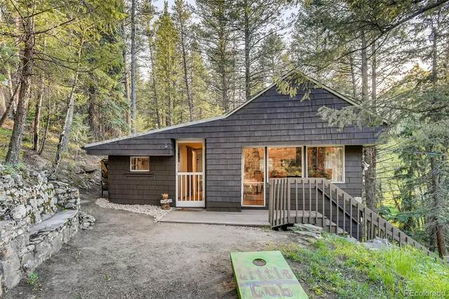 4925 Little Cub Creek Road, Evergreen, CO 80439 (#7570188) :: iHomes Colorado