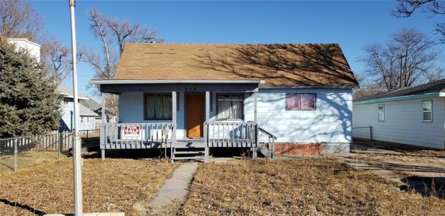 218 N Ninth Avenue, Sterling, CO 80751 (#7572980) :: The HomeSmiths Team - Keller Williams