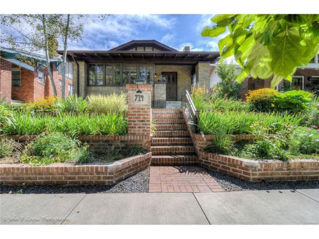 714 S High Street, Denver, CO 80209 (#7574947) :: Thrive Real Estate Group