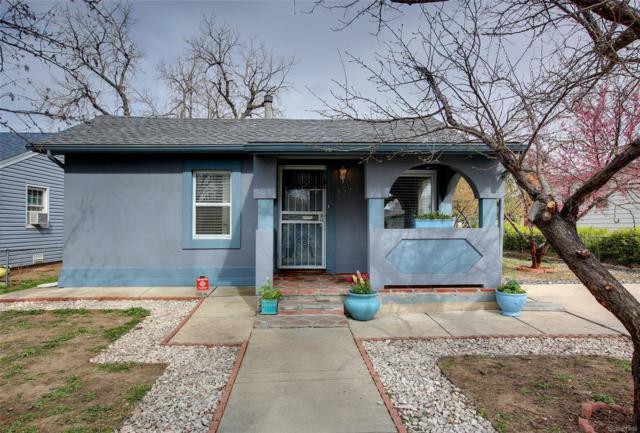 152 Osceola Street, Denver, CO 80219 (#7578558) :: The Peak Properties Group
