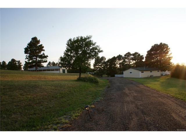 8297 N Delbert Road, Parker, CO 80138 (MLS #7579040) :: 8z Real Estate