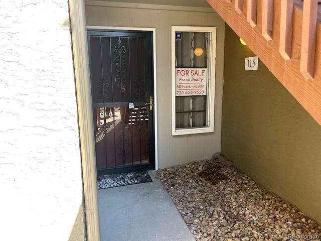 5300 Cherry Creek South Drive #115, Denver, CO 80246 (MLS #7586918) :: Keller Williams Realty
