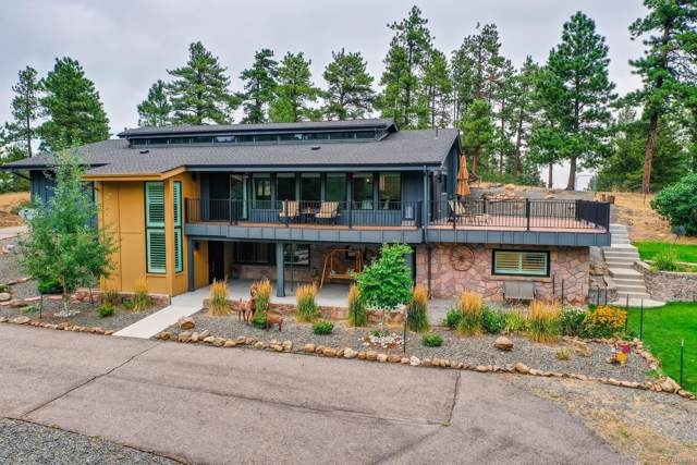 1210 Madge Gulch Road, Sedalia, CO 80135 (MLS #7587365) :: 8z Real Estate