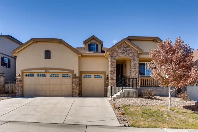 2655 Black Canyon Way, Castle Rock, CO 80109 (#7591732) :: Briggs American Properties