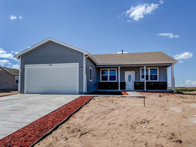 156 S 4th Avenue, Deer Trail, CO 80105 (#7593270) :: The DeGrood Team