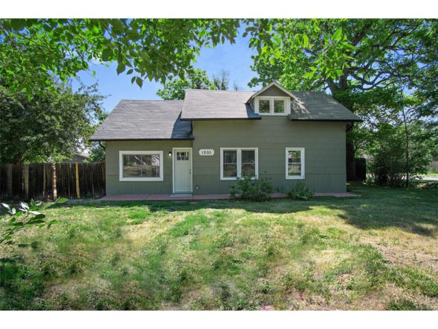 1200 Balsam Street, Lakewood, CO 80214 (MLS #7598588) :: 8z Real Estate