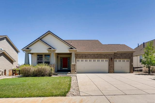 12134 Pine Top Street, Parker, CO 80138 (#7598811) :: The Galo Garrido Group