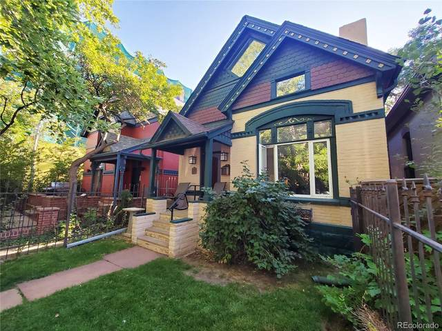 1736 N Marion Street, Denver, CO 80218 (#7599569) :: HomeSmart