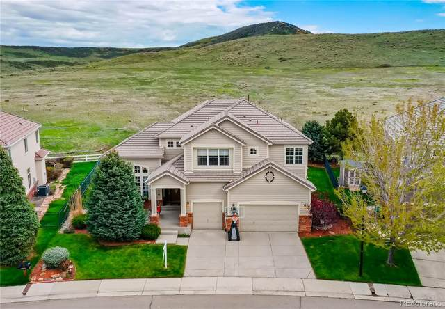 10380 Carriage Club Drive, Lone Tree, CO 80124 (#7602378) :: The DeGrood Team