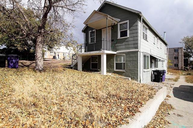 1260 Xavier Street, Denver, CO 80204 (#7604311) :: The Peak Properties Group