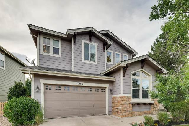 10783 Mountshire Circle, Highlands Ranch, CO 80126 (#7606008) :: The HomeSmiths Team - Keller Williams