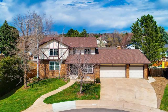 2955 E Geddes Place, Centennial, CO 80122 (#7606949) :: The Peak Properties Group