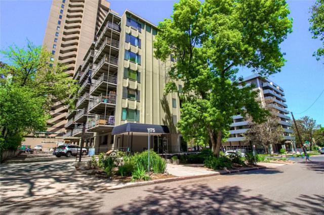 1175 Vine Street #605, Denver, CO 80206 (#7607744) :: The Galo Garrido Group