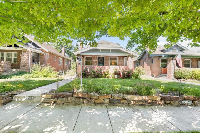 2355 Hudson Street, Denver, CO 80207 (#7618621) :: The Peak Properties Group