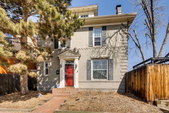 409 E Virginia Avenue, Denver, CO 80209 (#7620068) :: The Dixon Group