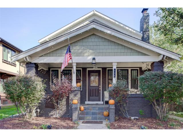 966 S York Street, Denver, CO 80209 (#7623869) :: Wisdom Real Estate