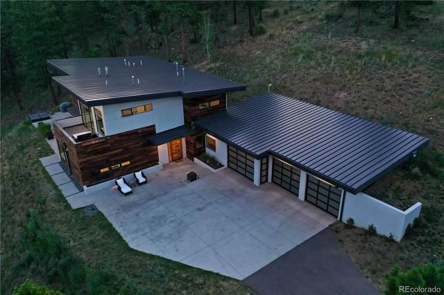 3551 Overlook Trail, Evergreen, CO 80439 (#7624923) :: milehimodern