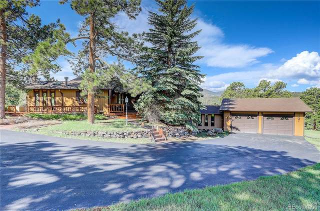 8041 Grizzly Way, Evergreen, CO 80439 (#7626803) :: Wisdom Real Estate