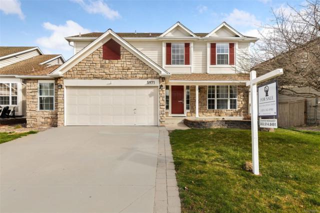 5971 S Rock Creek Drive, Castle Rock, CO 80109 (#7633517) :: Wisdom Real Estate