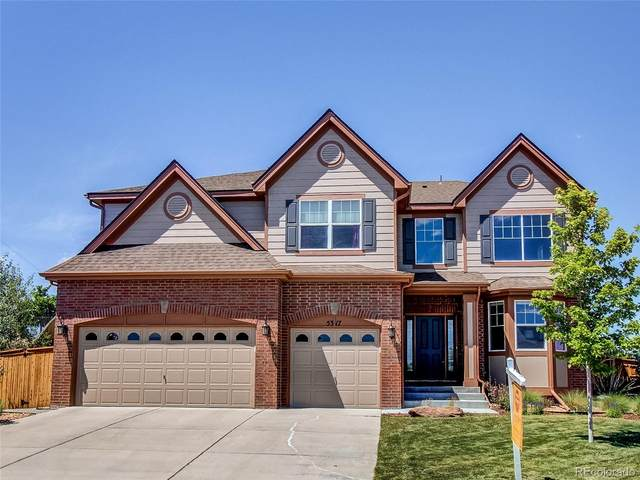 5317 S Elk Way, Aurora, CO 80016 (#7637611) :: The Healey Group