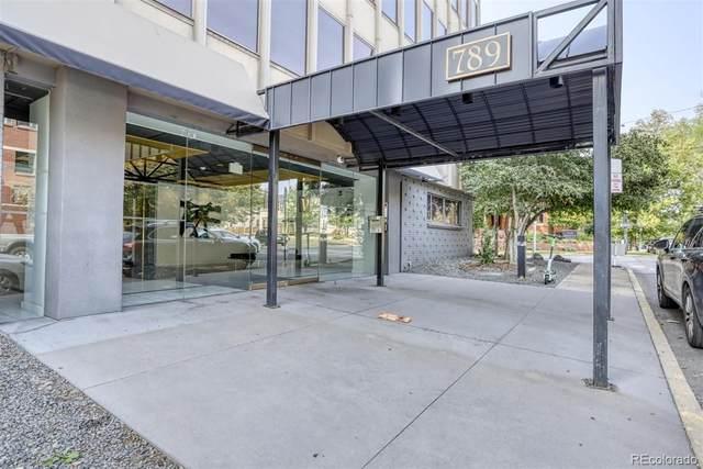 789 Clarkson Street #405, Denver, CO 80218 (#7638546) :: The Griffith Home Team