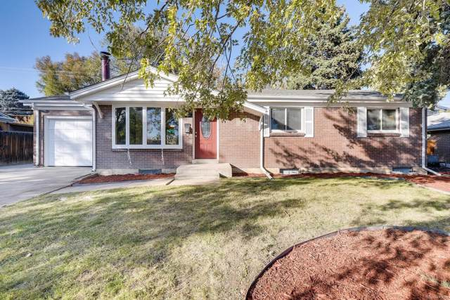 3901 W Wagon Trail Drive, Littleton, CO 80123 (MLS #7639519) :: Kittle Real Estate
