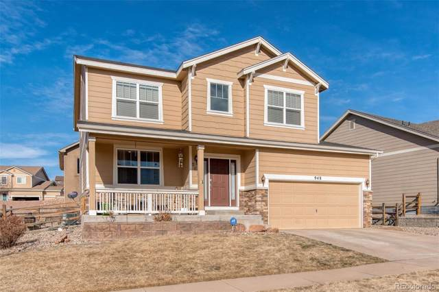 948 Fire Rock Place, Colorado Springs, CO 80921 (#7642160) :: My Home Team