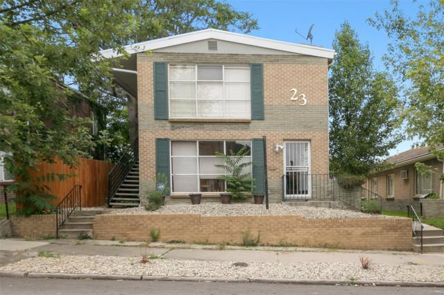 23 Clarkson Street #2, Denver, CO 80218 (#7643483) :: HomeSmart Realty Group