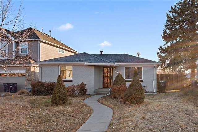 472 S Leyden Street, Denver, CO 80224 (MLS #7644108) :: 8z Real Estate