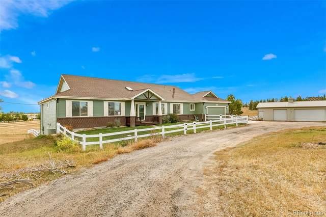 8220 N Saguaro Ridge Road, Parker, CO 80138 (#7647556) :: Venterra Real Estate LLC
