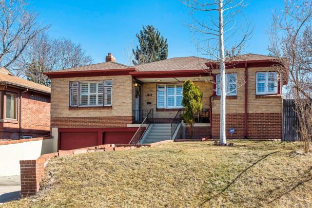 1418 S Marion Street, Denver, CO 80210 (#7650605) :: The Pete Cook Home Group