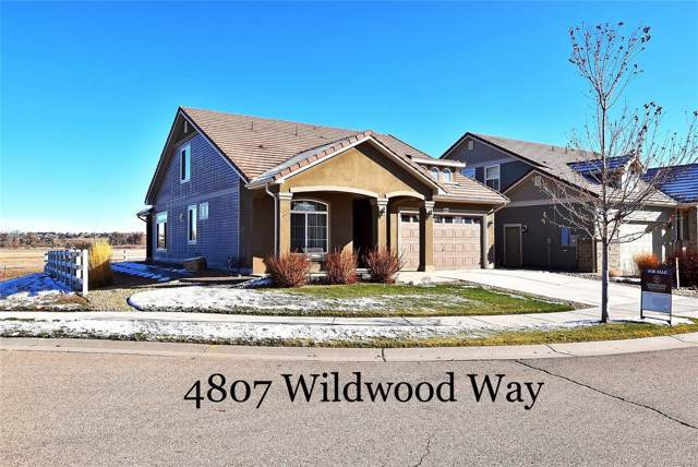 4807 Wildwood Way, Johnstown, CO 80534 (MLS #7651824) :: 8z Real Estate