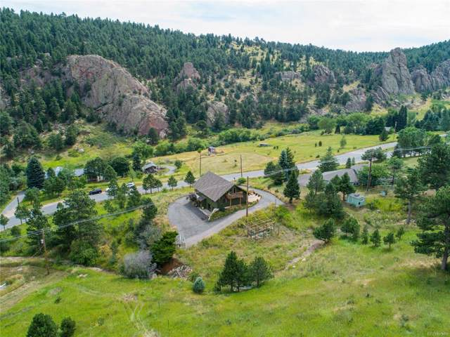 9355 Blue Mountain Drive, Golden, CO 80403 (#7652228) :: The Healey Group