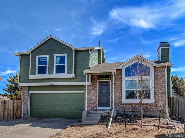 616 N Brentwood Court, Castle Rock, CO 80104 (#7660190) :: The Peak Properties Group